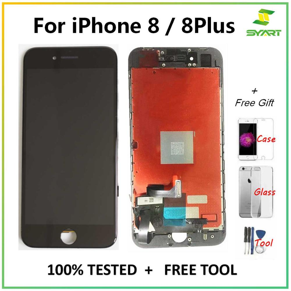 Lcd-Screen Digitizer-Assembly-Replacement Lcd-Display iPhone 8-Plus  title=
