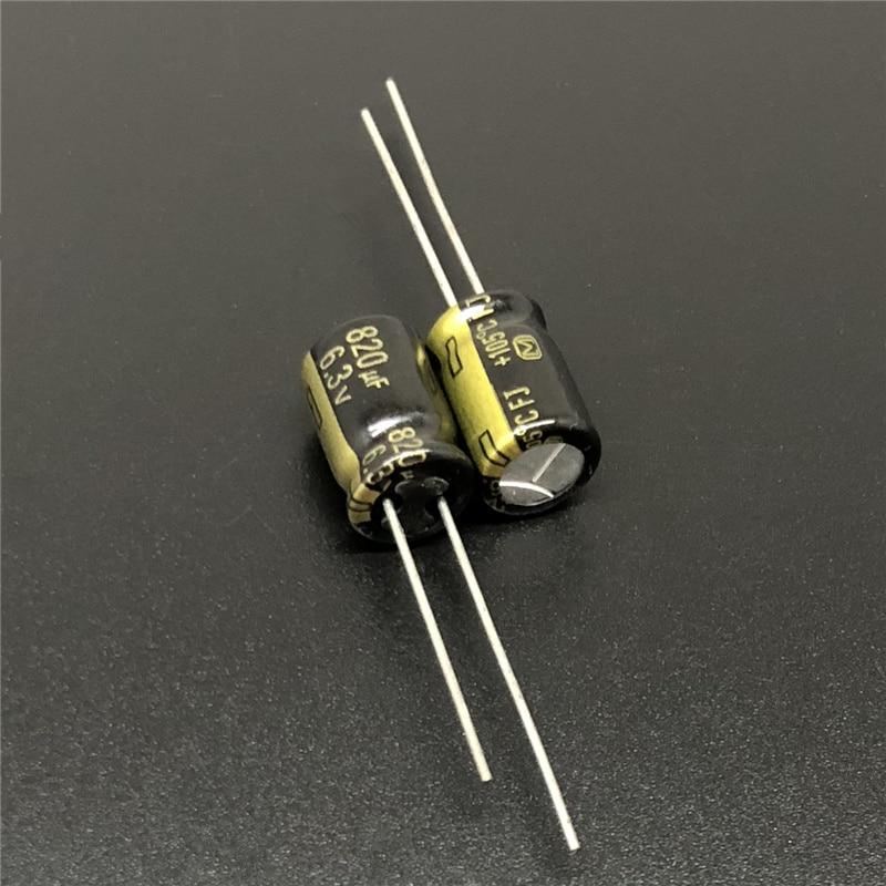 20pcs 1000uf 6.3v NCC Radial Electrolytic Capacitors KZG Low ESR 6.3v1000uf