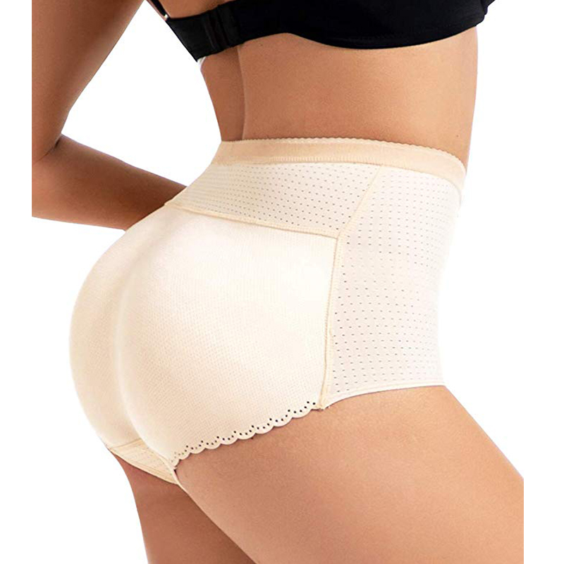 Floral High Waist Cincher Body Breif Shaper Tummy Control Panties Underwear Faja