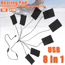 Electric-Heating-Pads Hand-Foot Back-Pain Shoulder Usb with 3-Gear Adjustable Temperature
