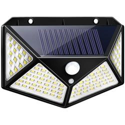 Садовый Солнечный светильник с датчиком движения PIR, светодиодный солнечный свет, солнечный свет, водонепроницаемый, для наружной стены, ул...