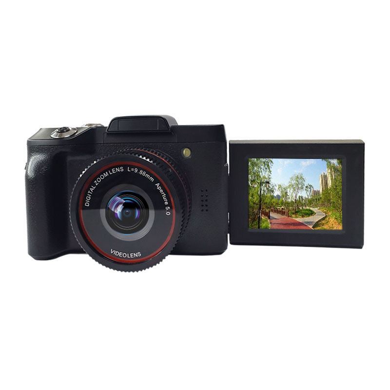 Zoom-Camera Camcorder Professional Digital High-Definition Full-Hd1080p 16x 4K Vlogging title=