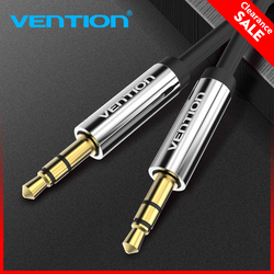 Vention кабель для внешнего сигнала 3,5 мм Штекерный аудио кабель 2 м 3 м 5 м Jack 3,5 Кабель для автомобильного динамика для iPhone samsung Xiaomi Aux шнур