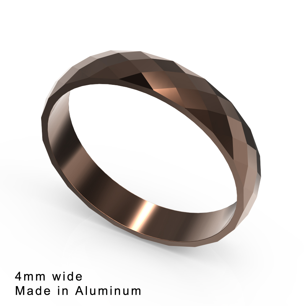 Cremo Stackable Rings Luminous Section Ring Temperament Men/'s Ring Couple Wedding Rings Valentine/'s Day Gift Anllios Mujer