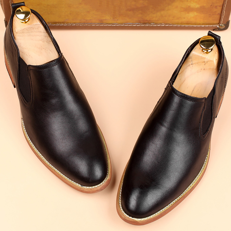 Genuine Leather Classic Business Men