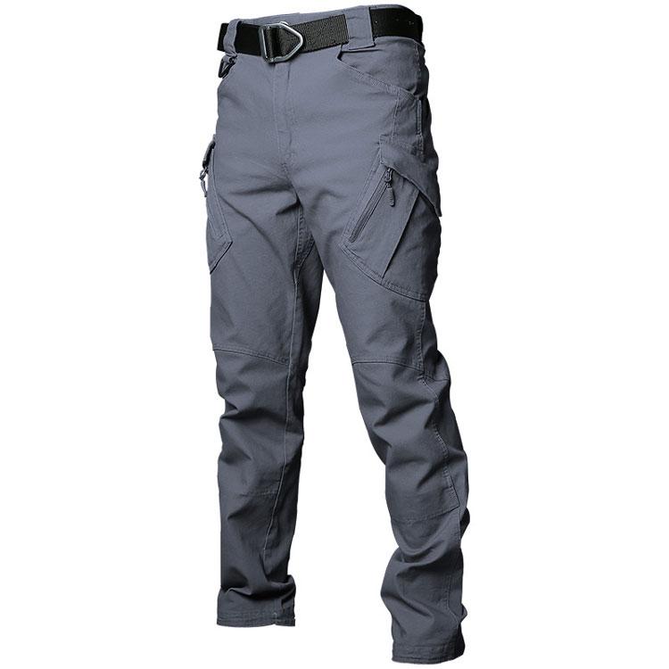 LHHMZ Pantalon Cargo de randonn/ée en Plein air pour Homme Sports Tir Chasse Militaire Tactique Combat Travail Pantalon D/écontract/é