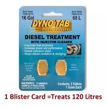 Injector Cleaner Power-Booster Diesel-Treatment Fuel-Saver Dynotab with 2-Tab
