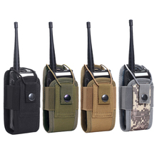 Holster Pouch Waist-Bag-Holder Pocket Carry-Bag Walkie-Talkie Radio Molle Tactical Hunting