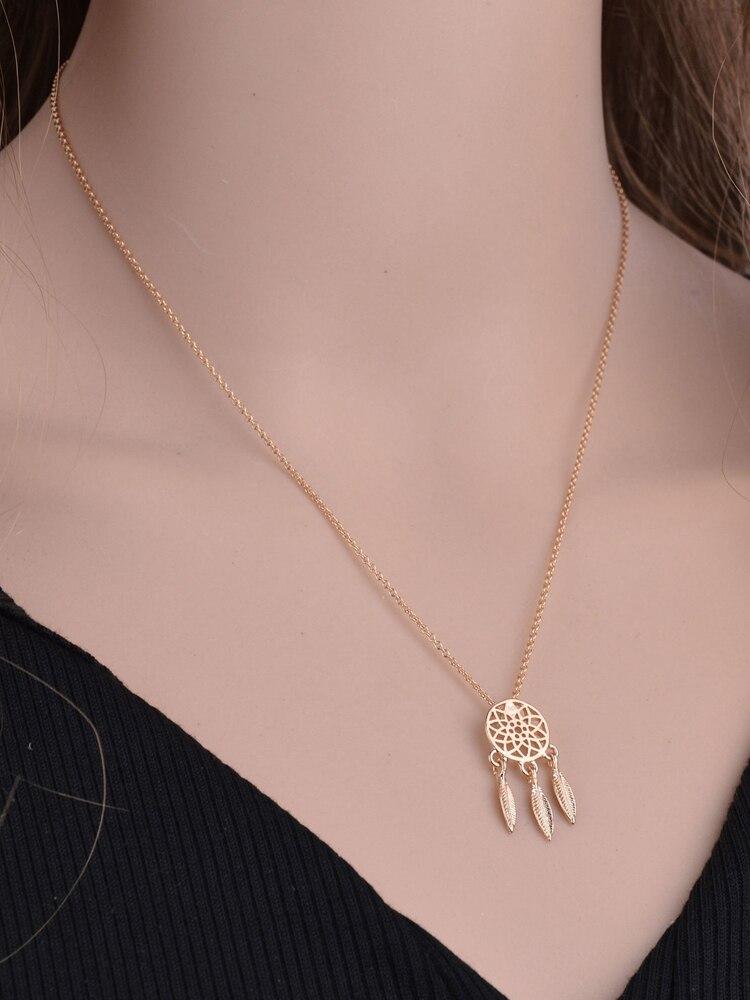 Новая мода «Ловец снов» ювелирные изделия серии ожерелье Изысканный Сплав Полые подвесное ожерелье популярное цепи ожерелье Подарки women2019