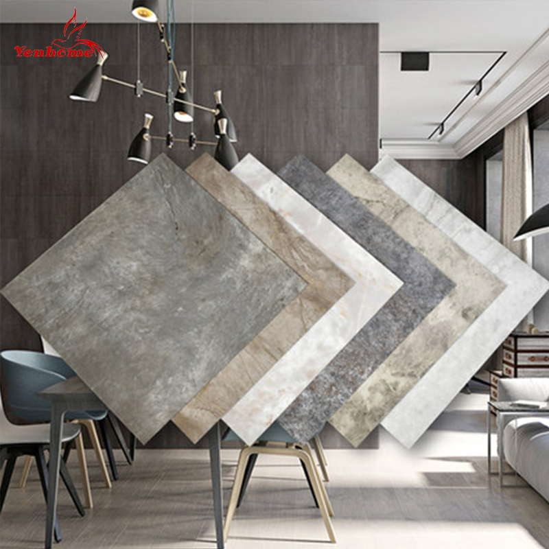 Waterproof Floor Stickers Self Adhesive Marble Wallpapers Bathroom Wall Sticker House Renovation Decals DIY Wall Ground Decor