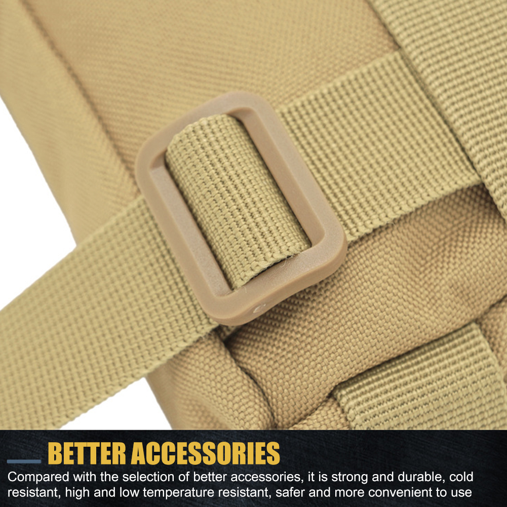 Multifunctional Nylon Mini Molle Modular Utility Pouch Attachment Waist Bag