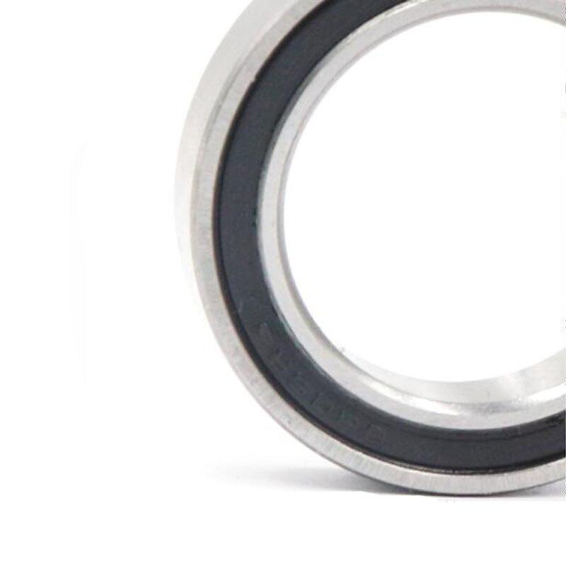 Ochoos 5pcs 204714mm Thin-Wall Bearing 6204ZZ Bearing Steel Sealed Double Shielded Dustproof for Instrument Electrical