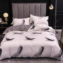 Bedding-Set Quilt-Cover Comforter Bed-Linen Pillow-Case Home Textiles Nordic-Style