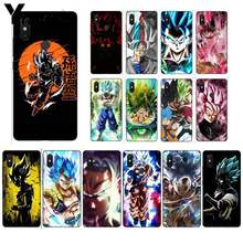 Модный чехол Yinuoda Dragon Ball Z Super DBZ Goku для XiaoMi 6 MIX2 8SE K20 REDMI 5A NOTE4X 7 6A(Китай)