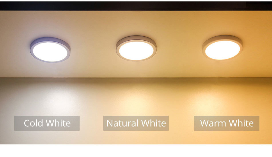 4X Round LED Ceiling Down Light Fast Kitchen Bedroom Fixture Lamp Warm White 12V