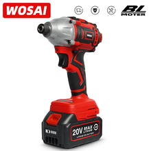 Brushless Screwdriver Battery Impact-Drill Wosai 20v 300NM
