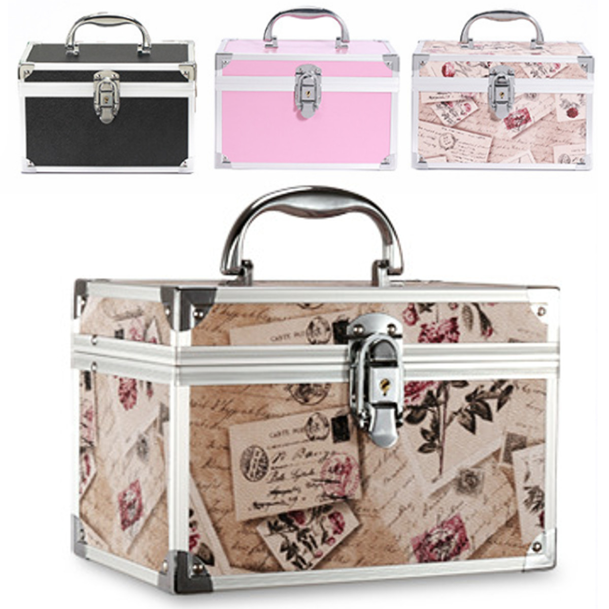Suitcases Cosmetic-Bag Manicure-Cosmetology-Case Travel Professional Large-Capacity Portable title=