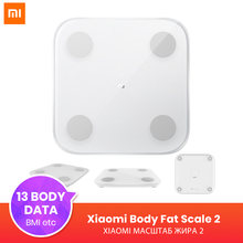 Xiaomi Body-Fat-Scale Balance-Test Composition Bluetooth Smart 2 13 Data-Bmi Muscle-Rate