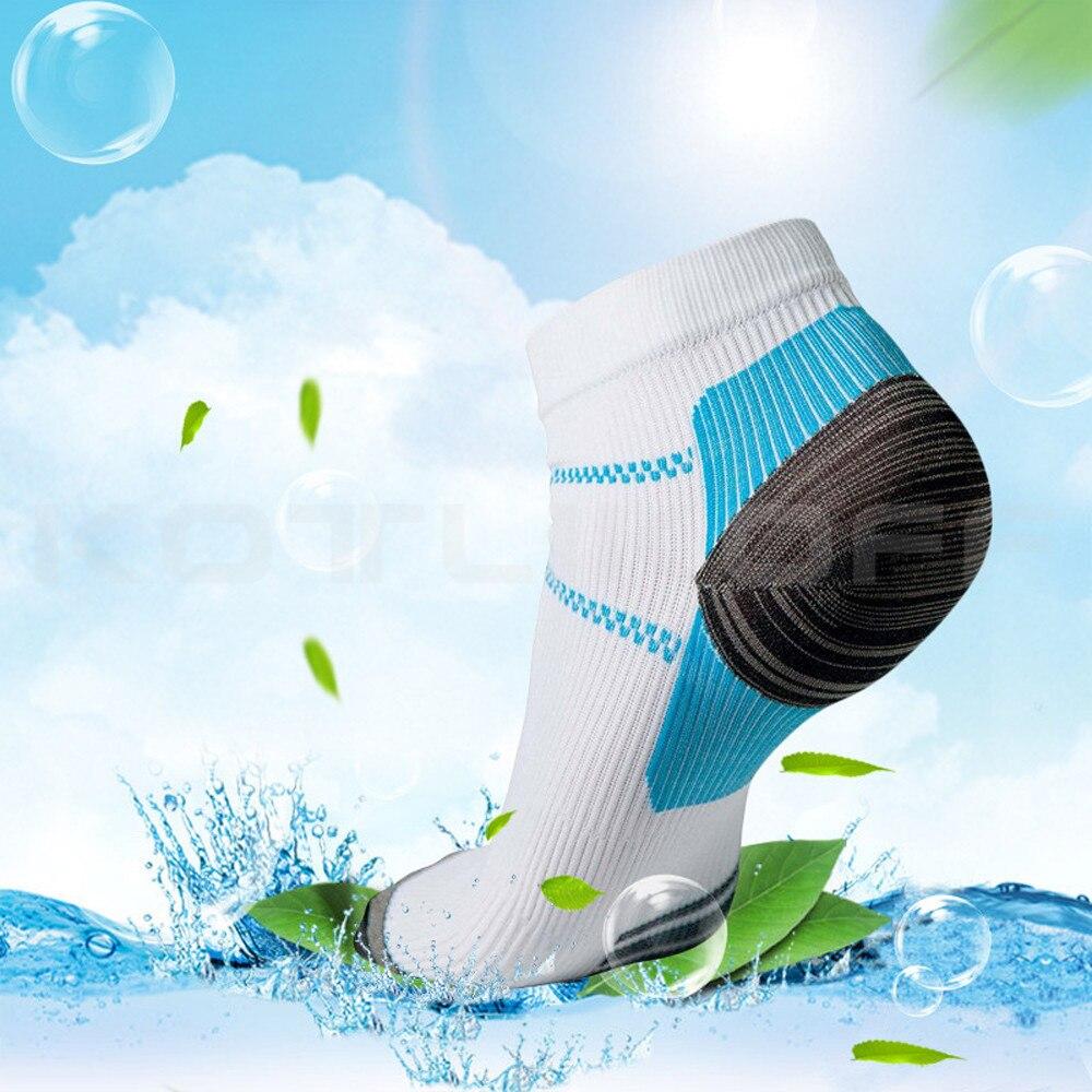 Chaussettes de compression basses anti-douleur et anti-fatigue