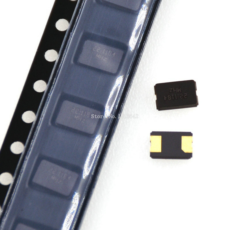 10PCS 16MHZ 16M 16.000mhz SMD Quartz Resonator Crystal 2Pin 5032 Passive Crystal Oscillator
