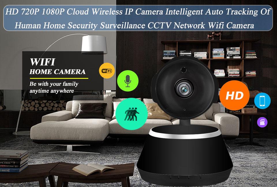 IP Camera Wifi 1080P Security Camera 720P Mini IP Camera Home CCTV Cameras P2P Two Way Audio Motion Detection IR-CUT  (7)