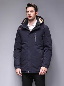 Blackleopardwolf 2019 Новое поступление зимняя мужская куртка с меховым воротником модное пальто парка верхняя одежда с меховым воротником bl-6603