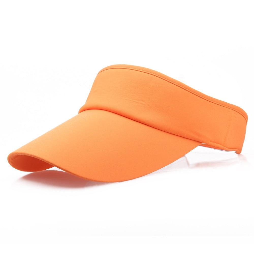 New Arrival Unisex Adjustable Men Women Summer Sport Headband Classic Sun Visor Hat Cap Sports Summer Hat Ladies Beach 903