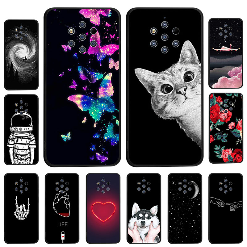 Silicone Case For Nokia 2.1 3.1 5.1 7.1 8.1 Plus 2 3 5 6 7 2018 9 PureView 8 Sirocco X7 C1 Case Cover Soft TPU Back Phone Bumper