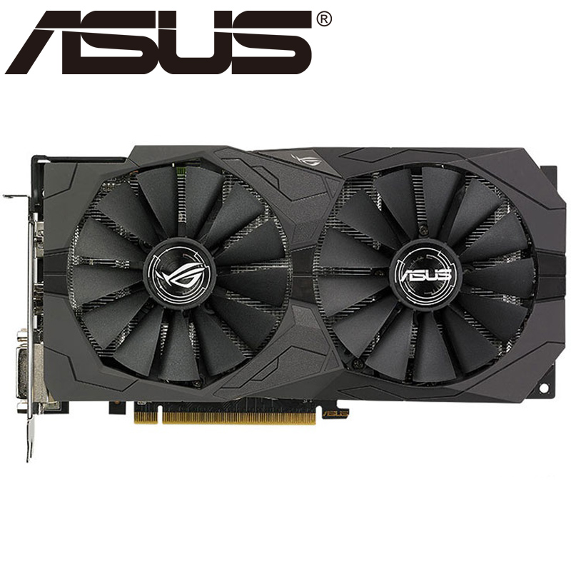 ASUS Video-Card 500-Series Used 4GB RX570 Amd Rx 580 GDDR5 HDMI 256bit DVI for Rx570/Used/Displayport title=