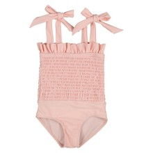 Swimwear Bikini Beachwear Bathing-Suits Baby-Girl Summer Kids 0-5T Rubber-Band Bow-Strap