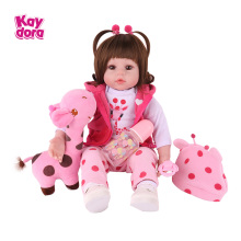 Doll Lol Birthday-Play-Toys Bebe Alive Silicone Reborn Realistic Toddler Lifelike Boneca