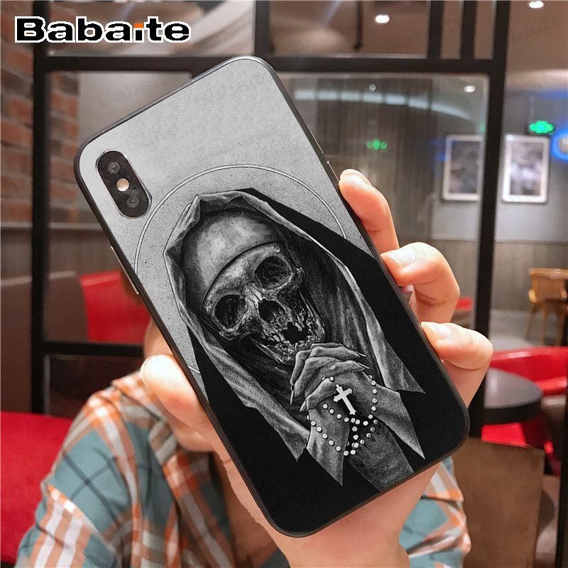 Death Prayer Grim Reaper Skeleton Skull