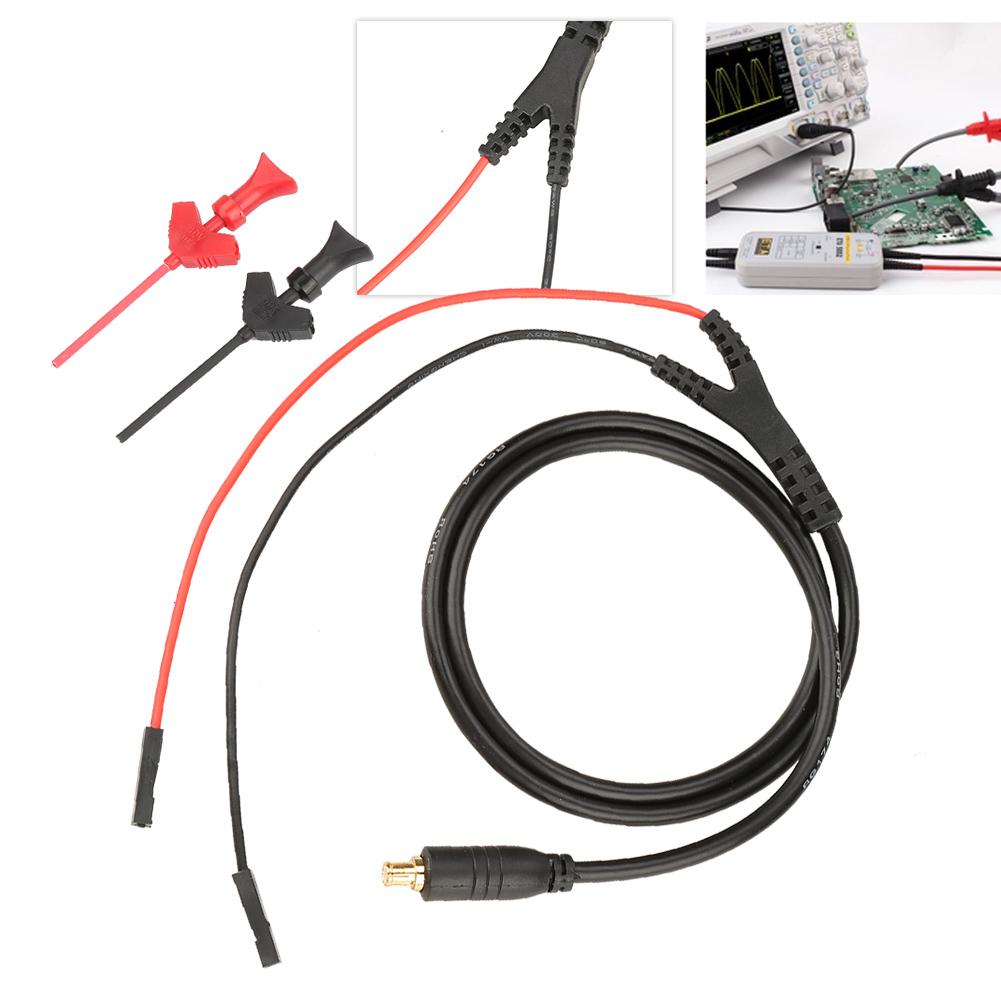 Oscilloscope Probe MCX Test Probe Hook for DS202 DS203 DS211 DS212 DSO201 DSO112A Mini Pocket Oscilloscope Test Probe Hook