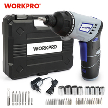 Electric-Screwdriver WORKPRO Lithium-Battery Rechargeable