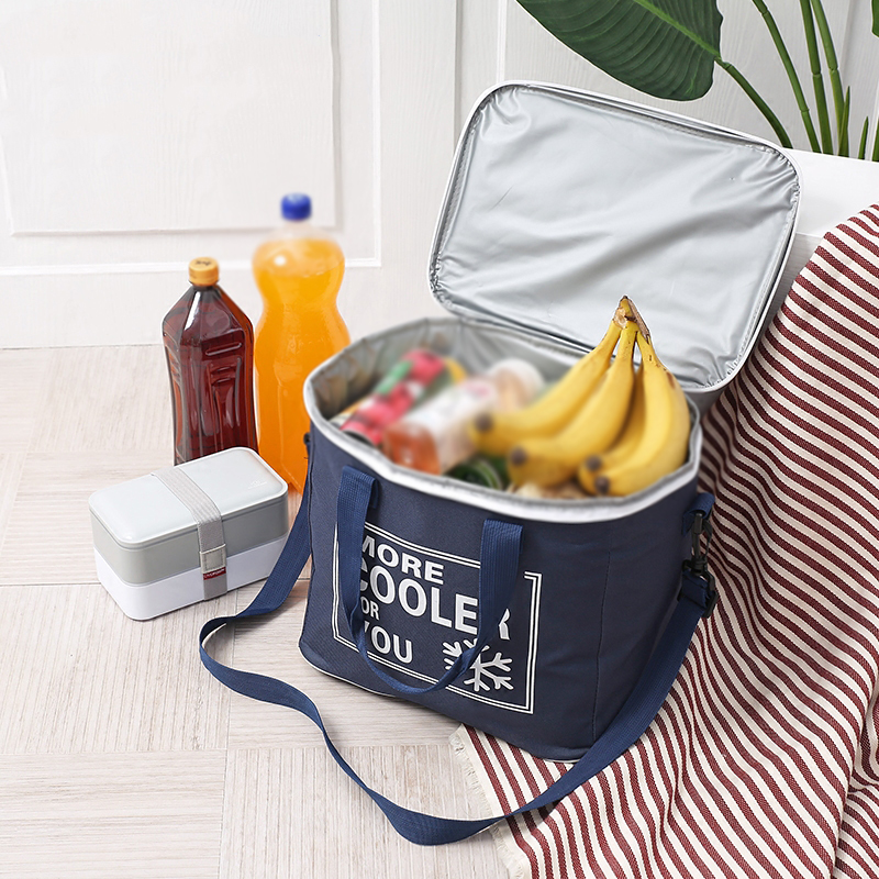 20L Food Fresh Keep Lunch Cooler Bag Waterproof Picnic Travel Storage Icepack Insulated beer Lunch Bags bolsa termica ice