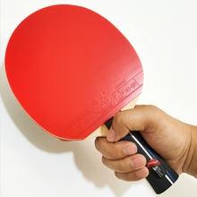 Paddle Table-Tennis Ping-Pong-Racket Rubber Tournament Professional with Carrying-Case