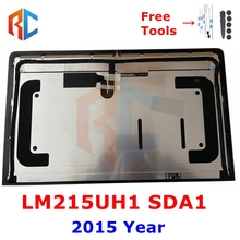 Late 2015 For Apple iMac 21.5'' A1418 4K LCD Screen Display Assembly LM215UH1(SD)(A1) 4096*2304 MK452 EMC2833 661-02990
