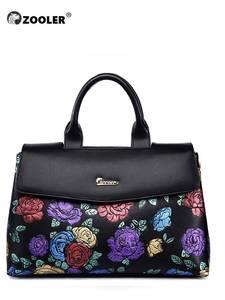 Женские кожаные сумки ZOOLER, элегантные черные сумочки из натуральной кожи, 2019