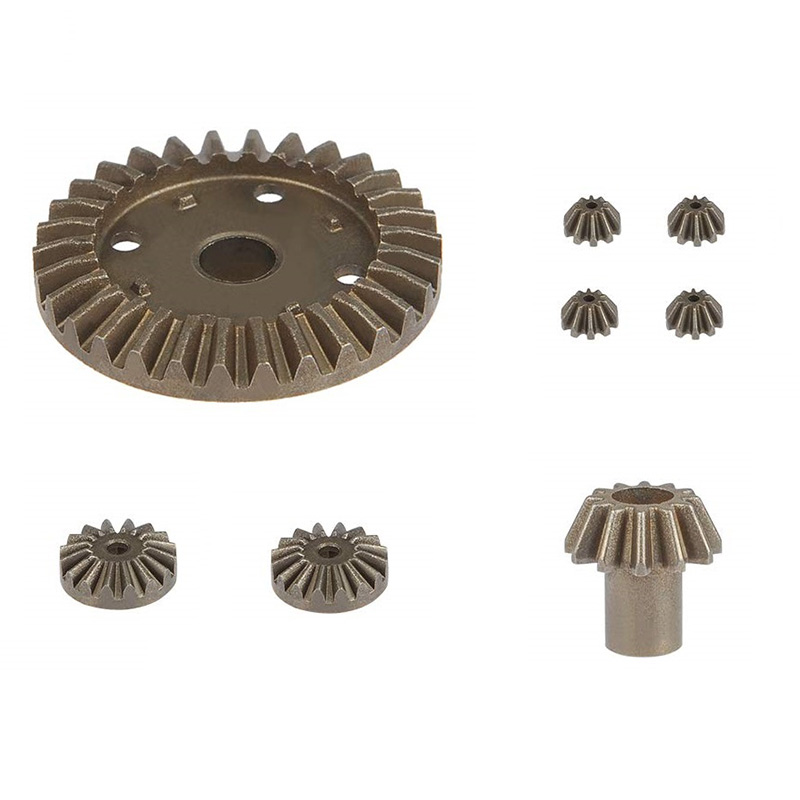 Upgrade Metal Gear 30T 16T 10T Differential Driving Gears for Wltoys 144001 E4K2