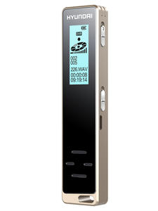 Hyundai Dictaphone Recording Activated Smart-Voice Professional Long-Distance Digital