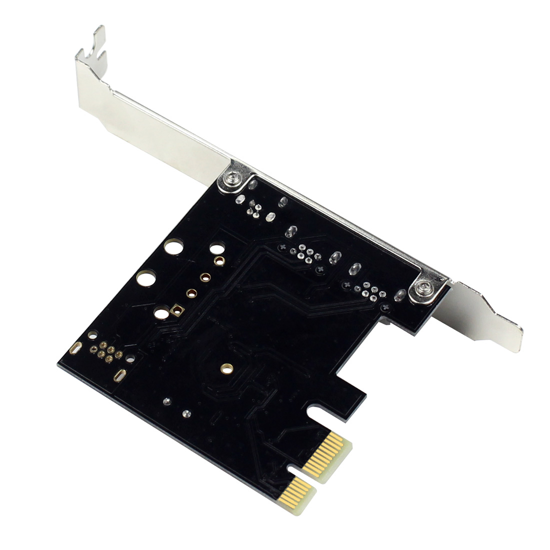 PCIe 3 Ports 1394A Firewire Expansion Card PCI Express to IEEE 1394 Adapter Controller 2 x 6 Pin And 1 x 4 Pin For Desktop PC