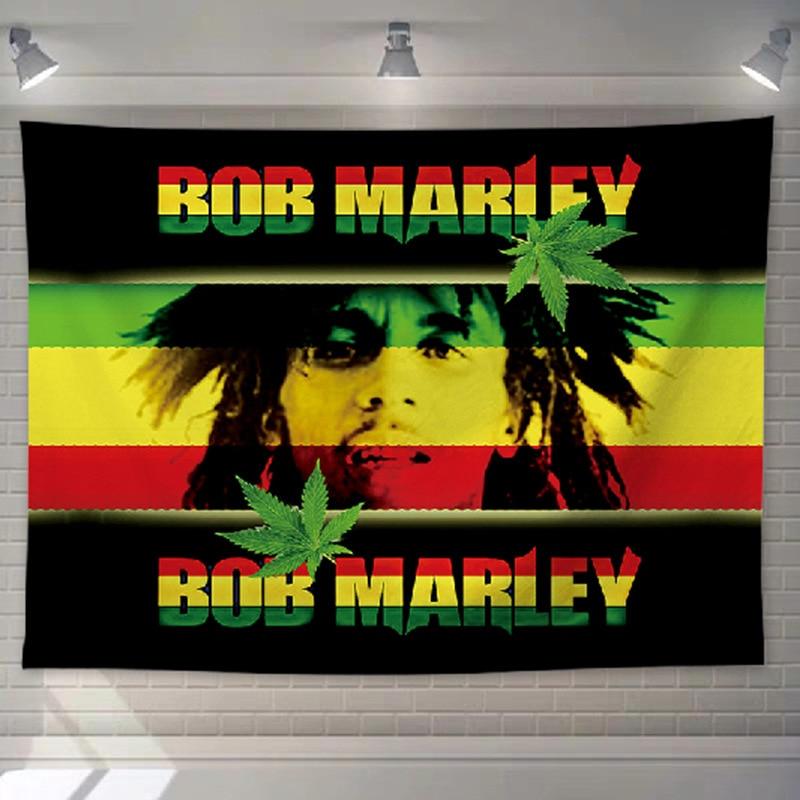 Tenture Rastafari Jamaïque reggea | Rasta-Lion