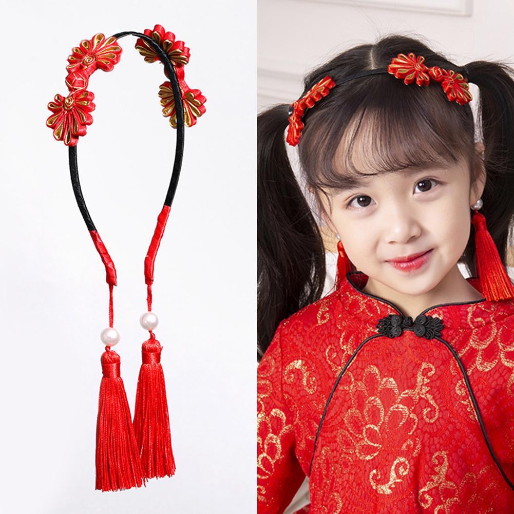 Sanwood Baby Girl Headband Toddler Headdress Child Hairband Elastic Black