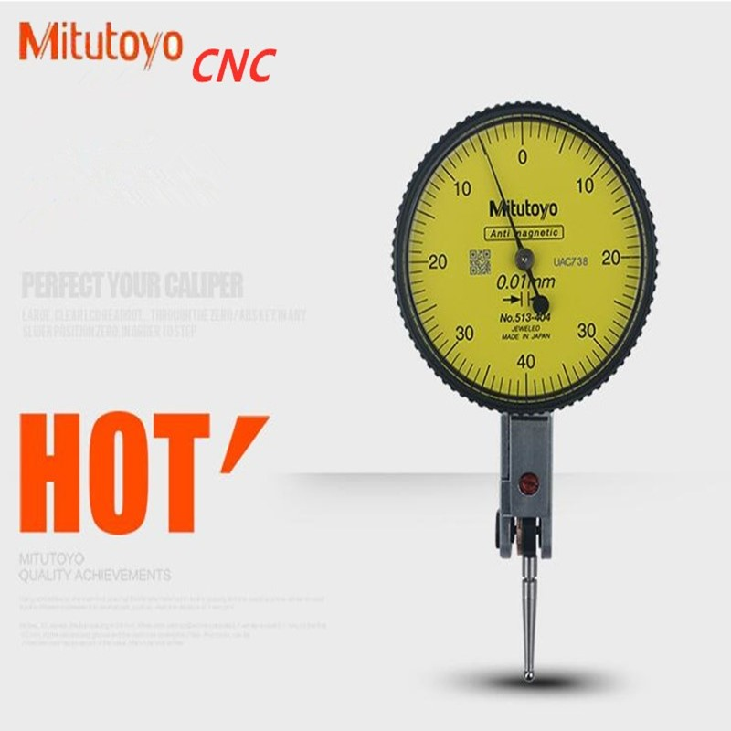 Mitutoyo 1044S Needle Disc Plane Dial Indicator Guage New