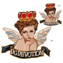 New Arrival Angel Embroidery Patches Applique Sew On Clothing Or Bags Sewing Supplies Decorative Patches EP032