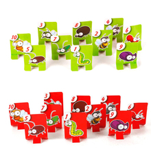 Chameleon Lizard Mask Wagging Tongue Lick Cards Board Game for Children Family Party