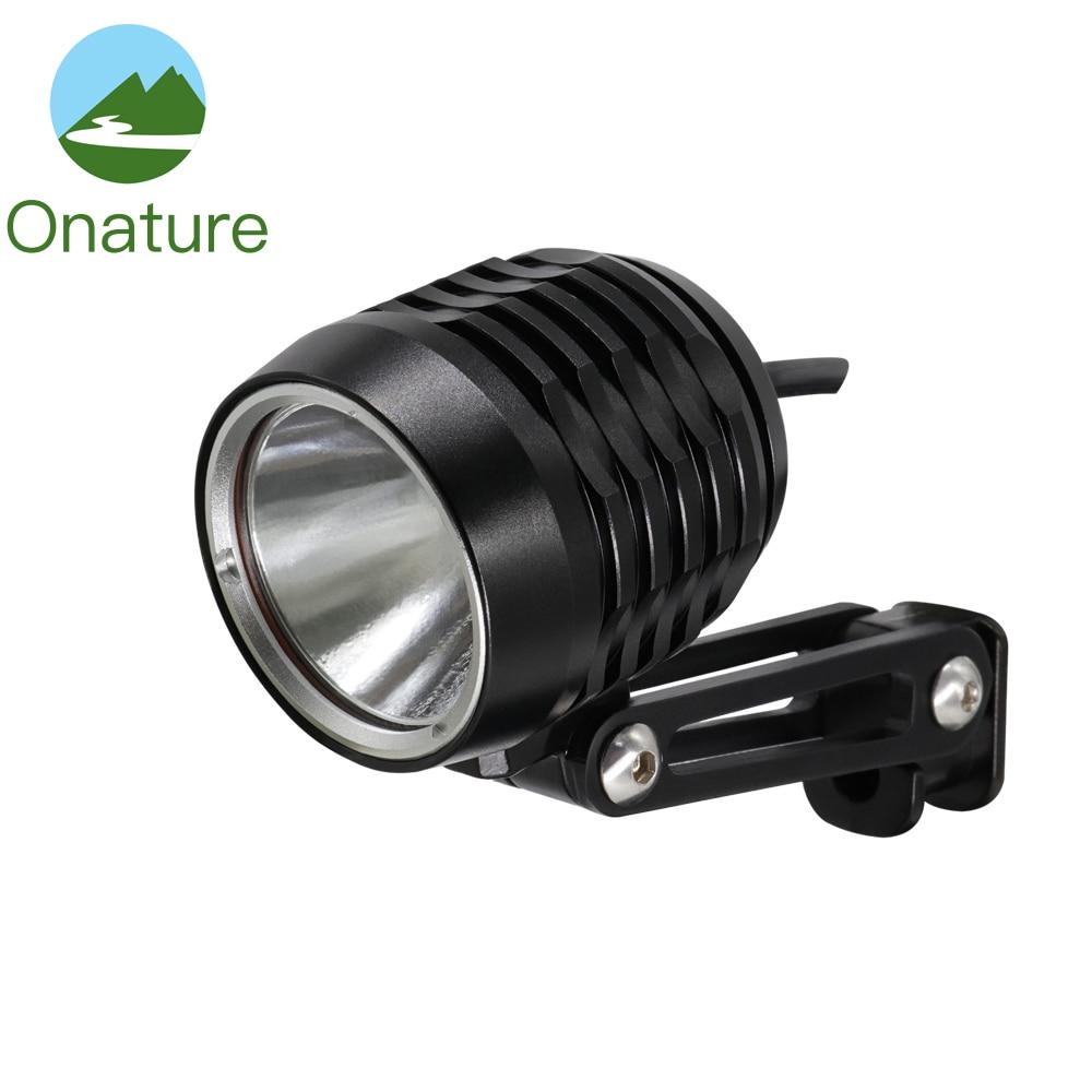 Onature Electric Bicycle Rear Light For E Bike Input DC6V 12V 18V 24V 36V 48V
