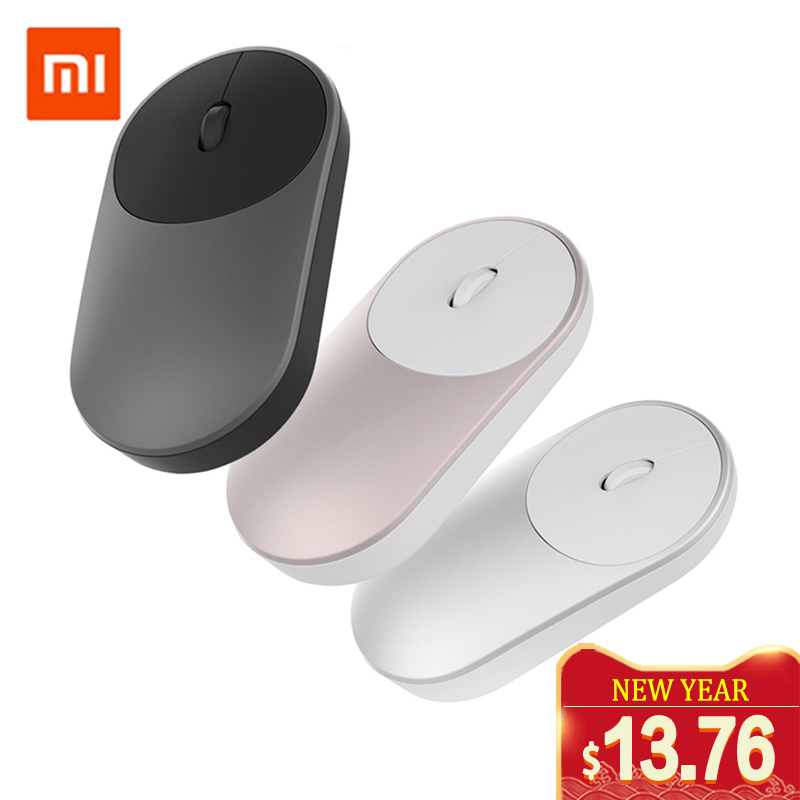 Xiaomi Mouse-Game Control-Connect Wifi Bluetooth Aluminium-Alloy Portable Wireless Computer title=
