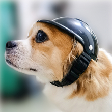 Helmet Dog-Hat Motorcycle Pet-Protect Small New Fashion ABS Plastic Cool Outdoor