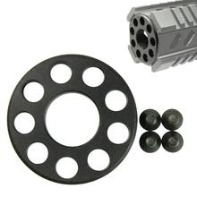 Ring-Barrel-Nut Airsoft Tactical 15-M4-Accessories .223 Front-End-Cap Hunting-Shooting